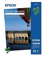 Бумага Epson S041332 Premium Semigloss Photo A4, 251 г/м2, 20л.